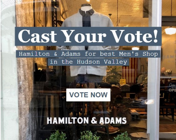 Two Days Left to Vote for  Hamilton & Adams