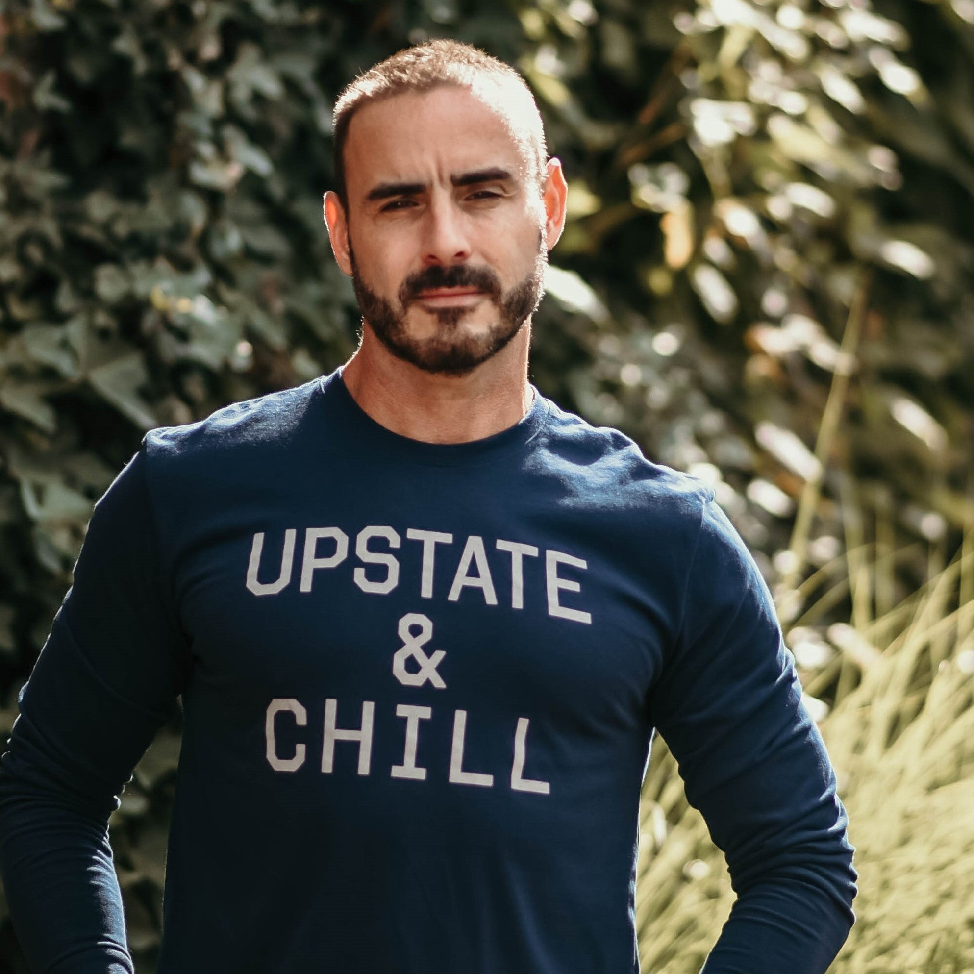 Upstate & Chill - Long Sleeve T