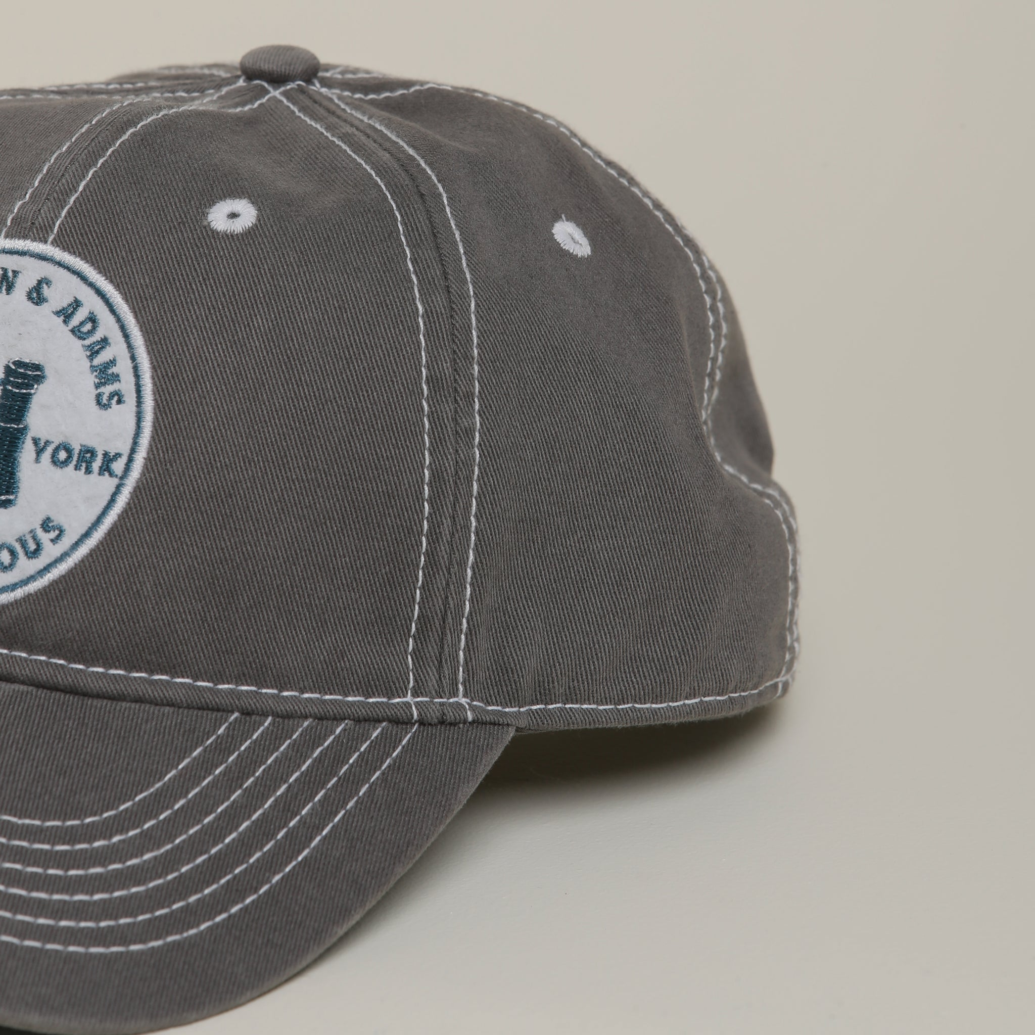 "Hamilton & Adams ""Stay Curious"" - Washed Twill Hat"