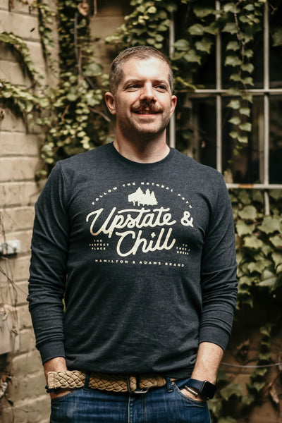 Perfect Place Long Sleeve T - Heather Charcoal