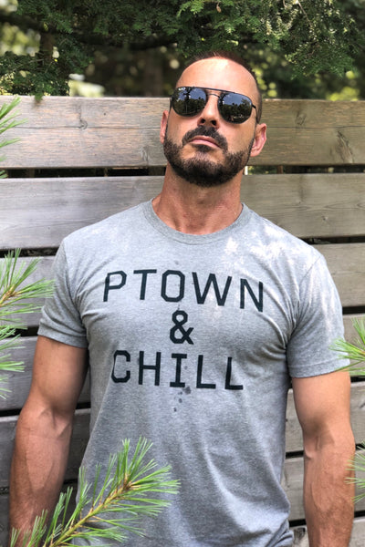 Ptown & Chill - Shirt - Gray
