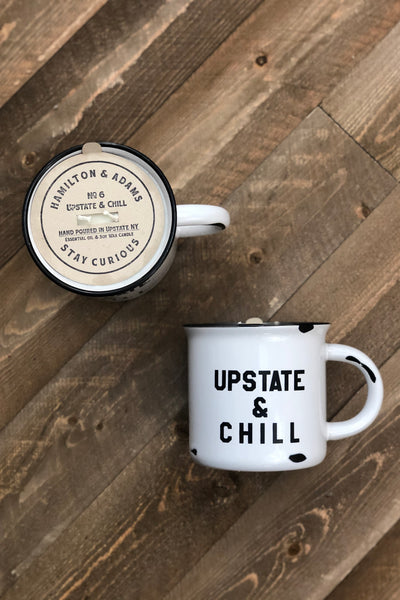 Hamilton & Adams Upstate & Chill Candle No. 6 - 12oz Mug