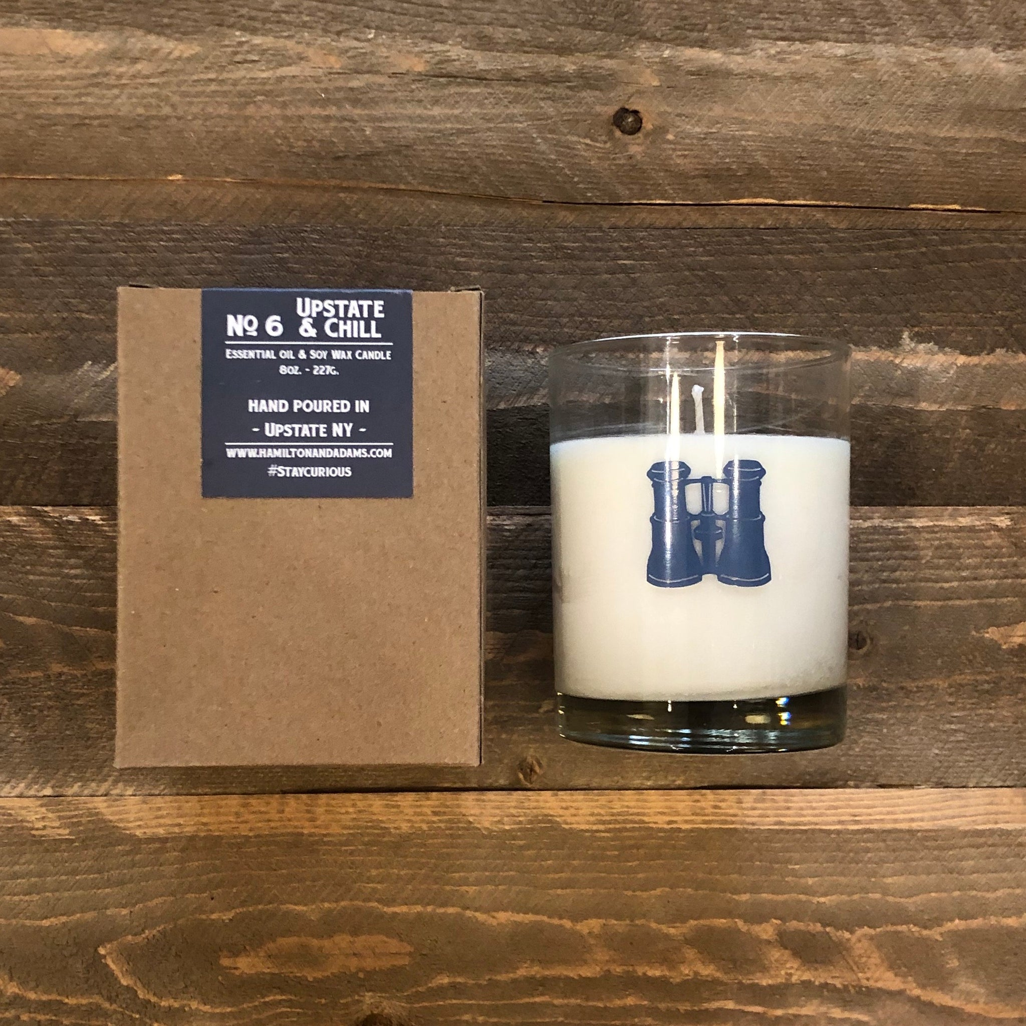 Hamilton & Adams Upstate & Chill Candle