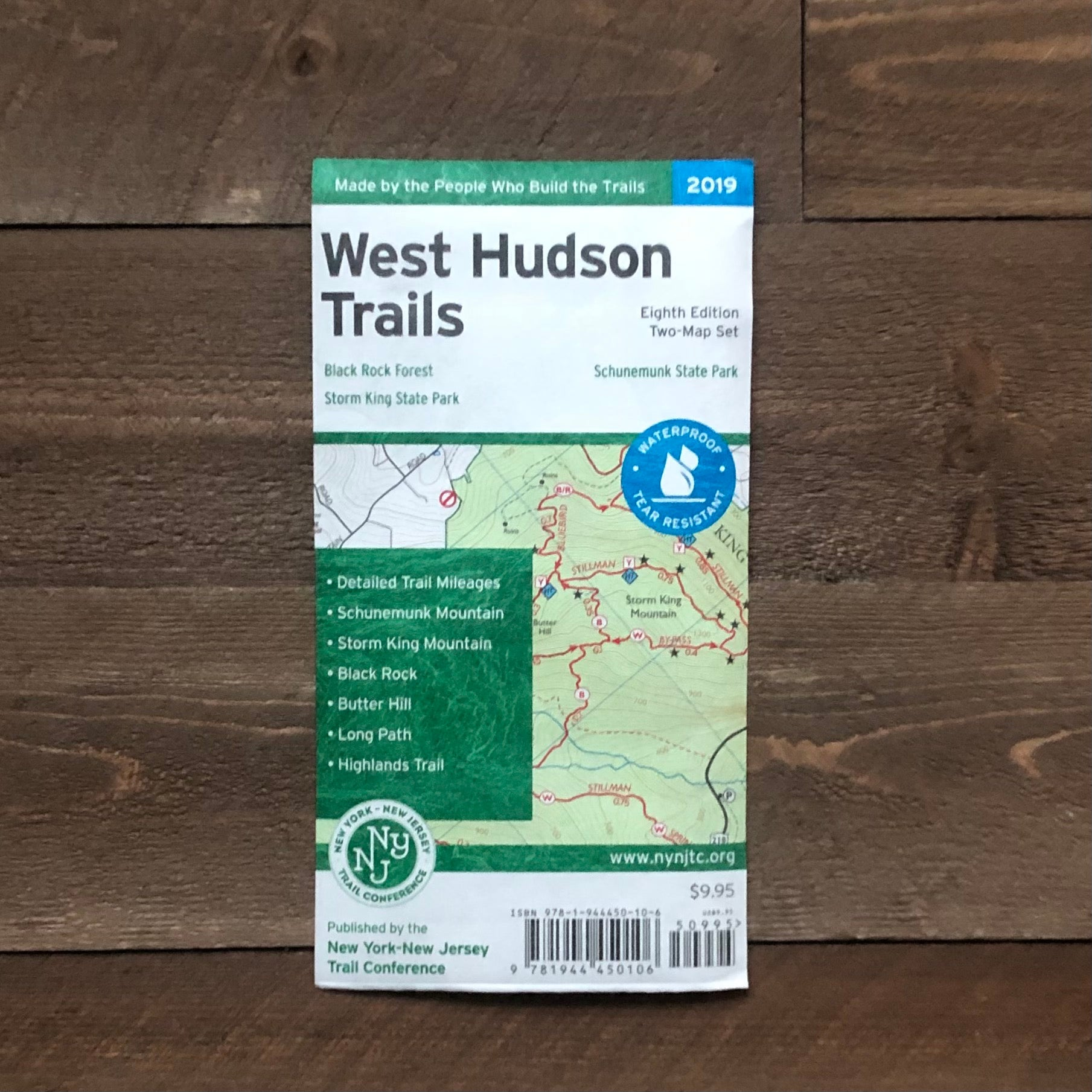 New York-New Jersey Trail Conference Maps