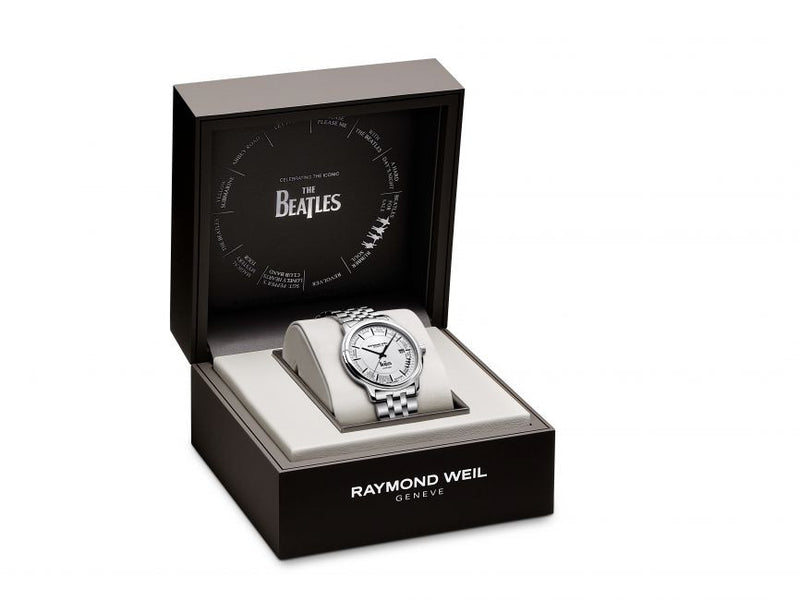 Raymond Weil Celebrates the Iconic Beatles with their New Commemorative Watch