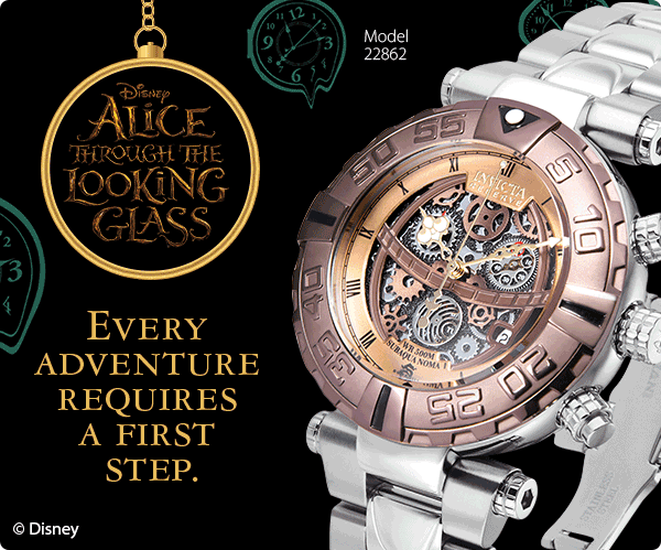 Invicta Launches their Newest Disney Limited Edition - Alice: Through the Looking Glass