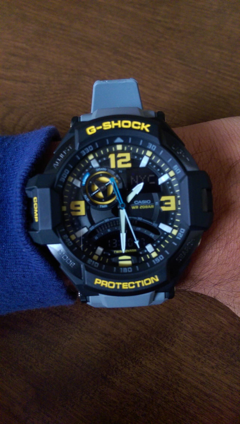 Hands-On Review of the Casio G-Shock GA1000-8A