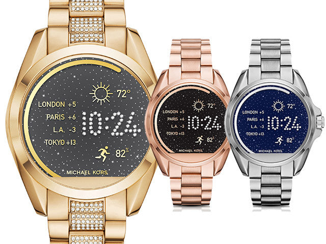 The New Bradshaw Smart Watch from Michael Kors: Fashion Meets Tech