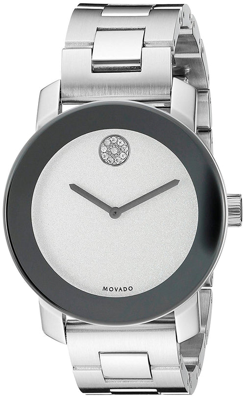 Movado Bold 3600334 Men's Silver Dial Stainless Steel Watch
