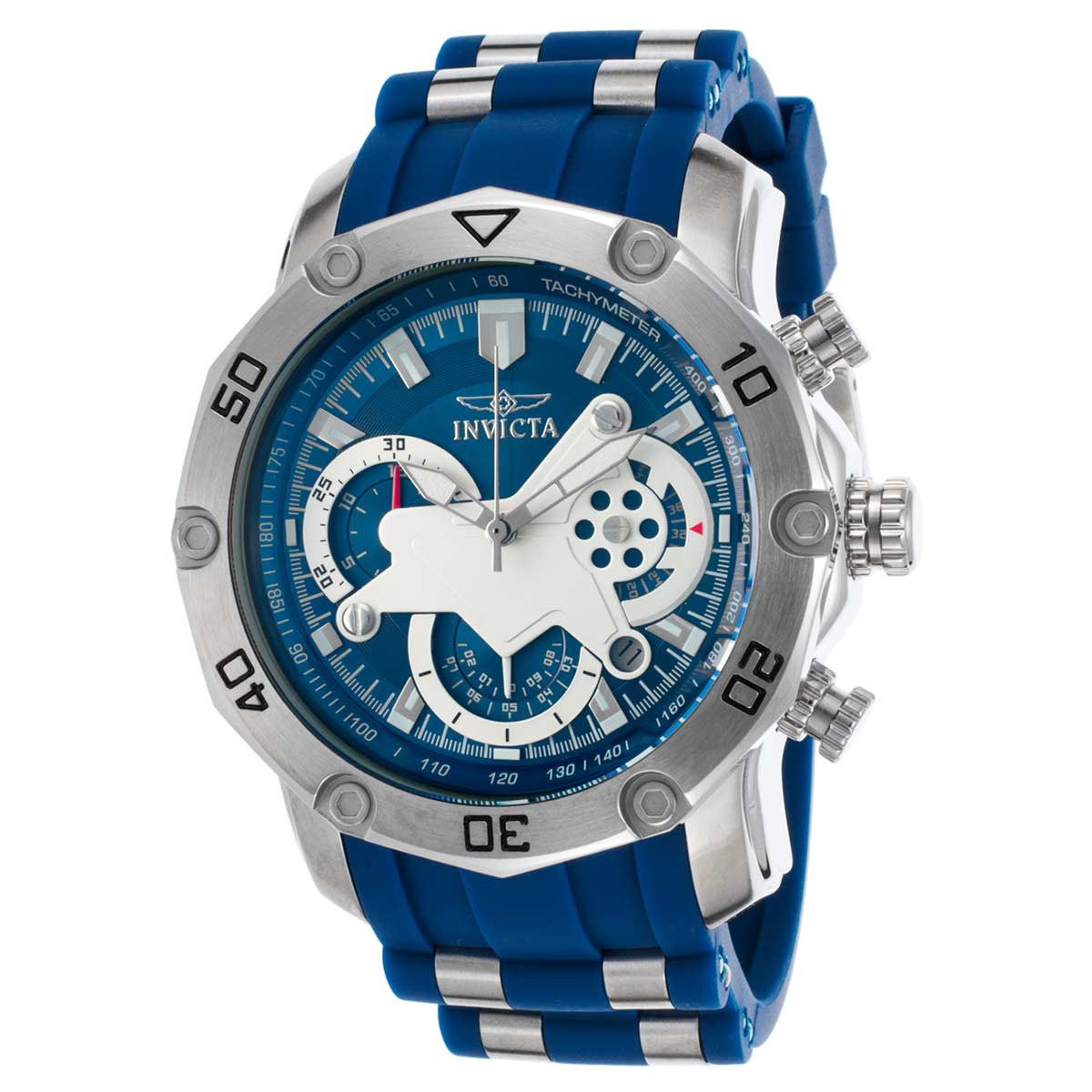 Invicta 22796 Men's Blue & White Dial Chronograph Date Watch 22796