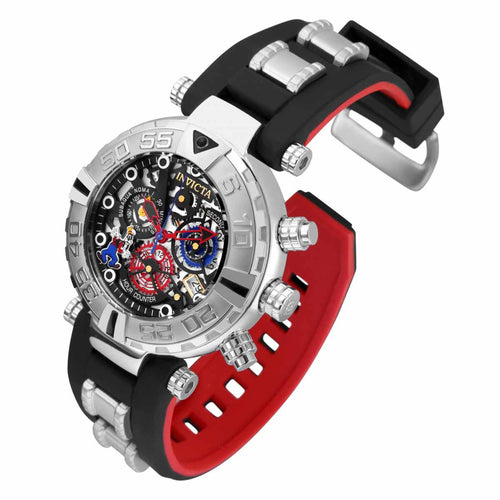 Invicta 24513 Men's Disney Subaqua Noma I Chronograph Steel & Silicone Strap Dive Watch