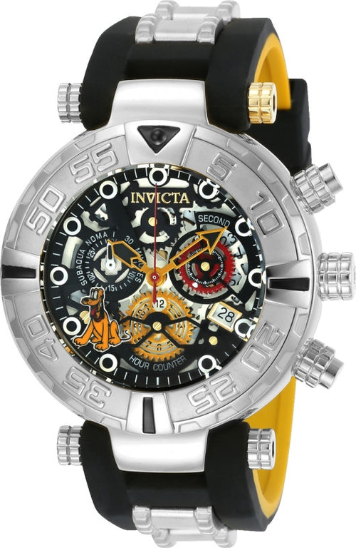 Invicta 24517 Men's Disney Subaqua Noma I Chrono Steel & Silicone Strap Dive Watch