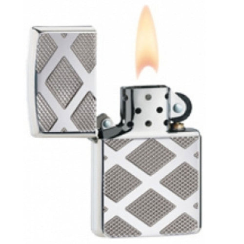 Zippo 28637 Armor General High Polish Chrome Windproof Pocket Lighter