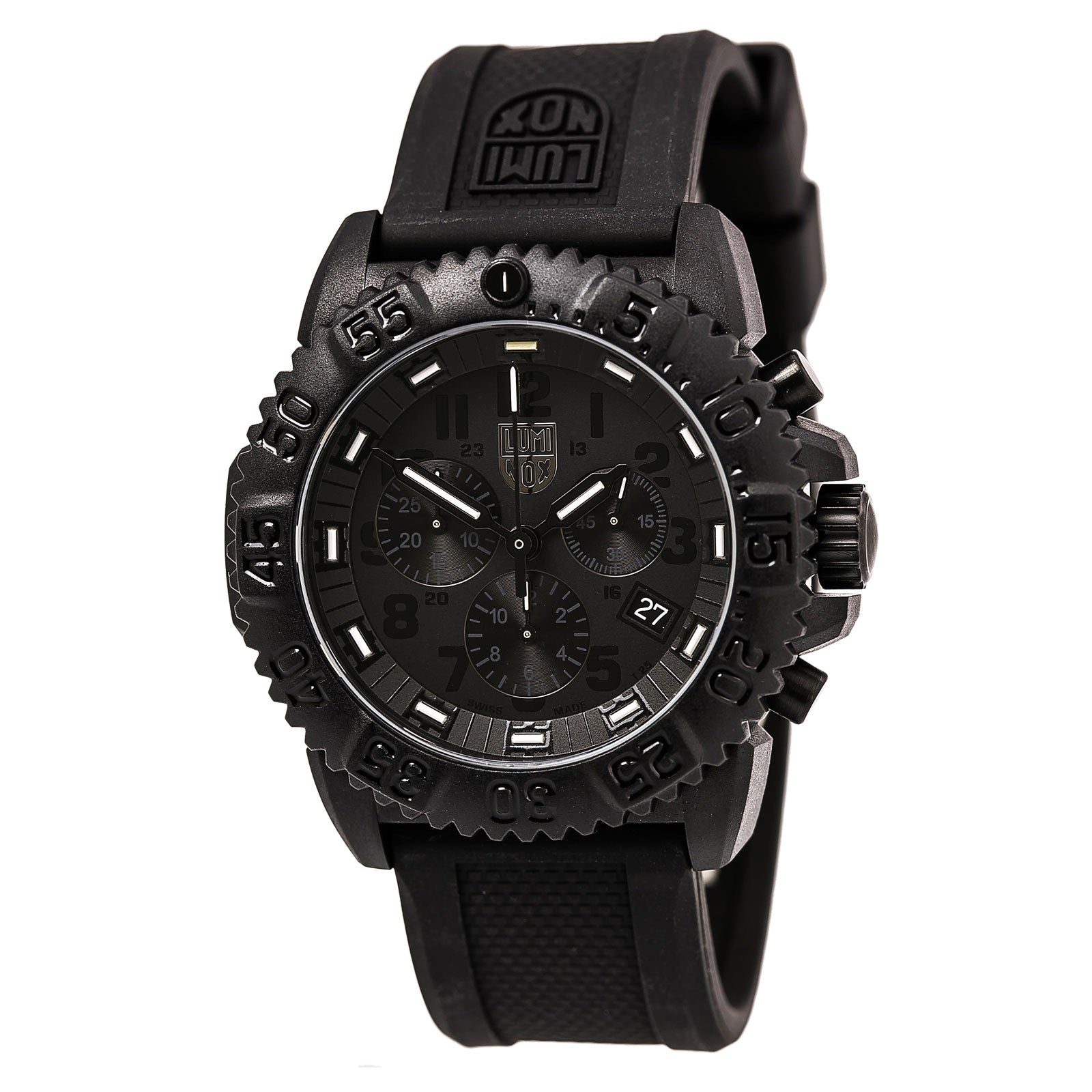 Luminox 3081.BO Men's Blackout EVO Chronograph Watch