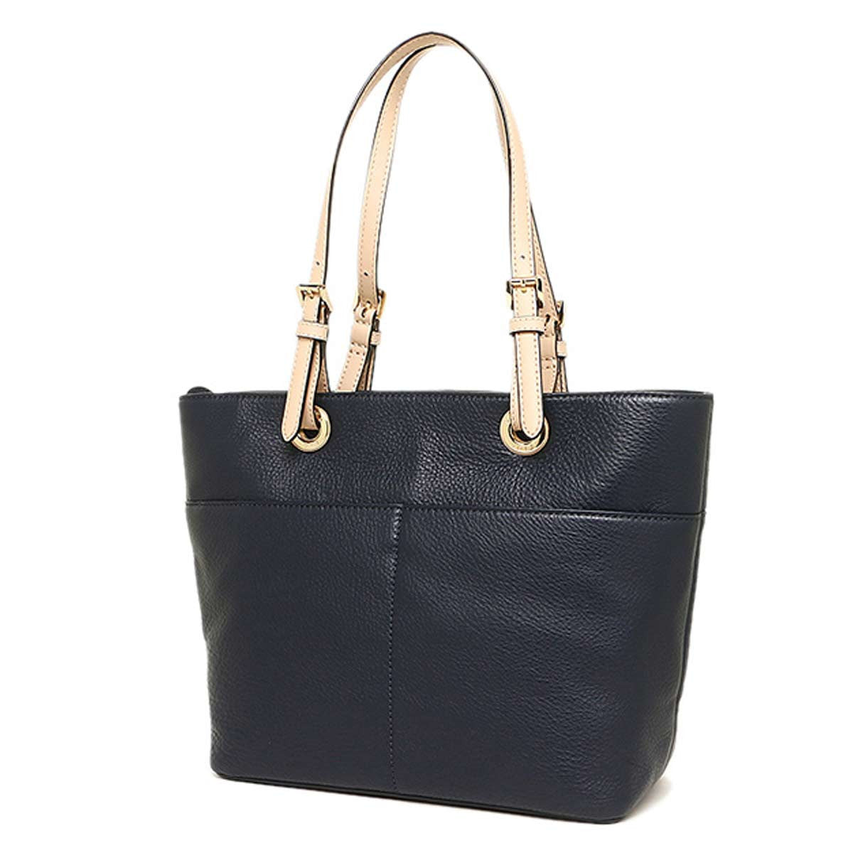 Michael Kors 30H4GBFT6L-414 Women's Bedford Large Admiral Blue Leather Tote