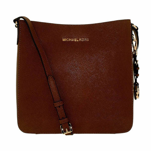 Michael Kors 30T2GTVM3L-230 Women's Jet Set Travel Large Luggage Saffiano Leather Messenger Bag