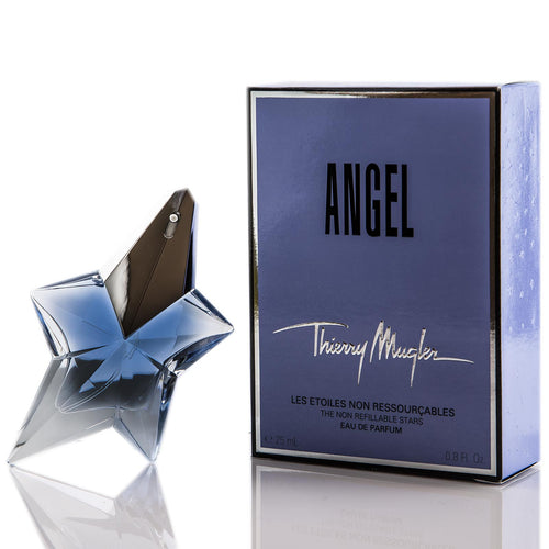 Angel By Thierry Mugler For Women The Non Refillable Stars Eau De Parfum Spray 0.8oz (25 ml)