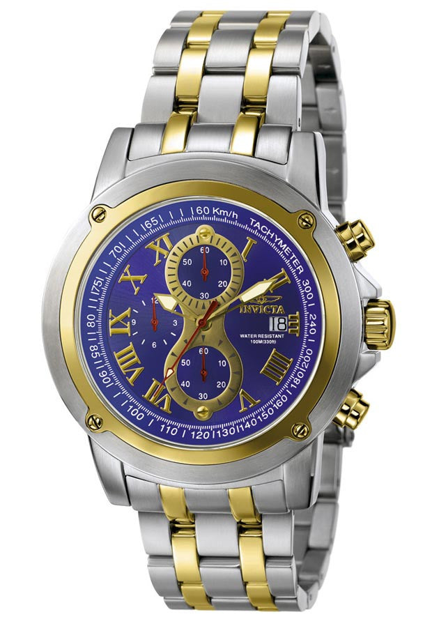 Invicta 4890 Men's Gold Chronograph Oversized Watch