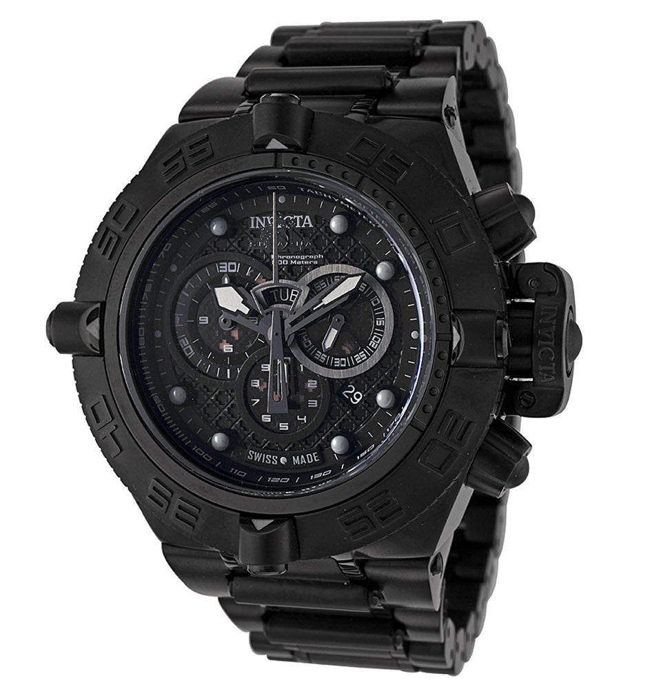 Invicta 6561 Men's Subaqua Noma Swiss Made Black IP Chronograph Watch