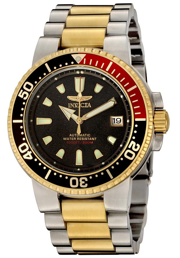 Invicta 6927 Men's Two Tone Stainless Steel 300M WR Automatic Scuba Dive Watch