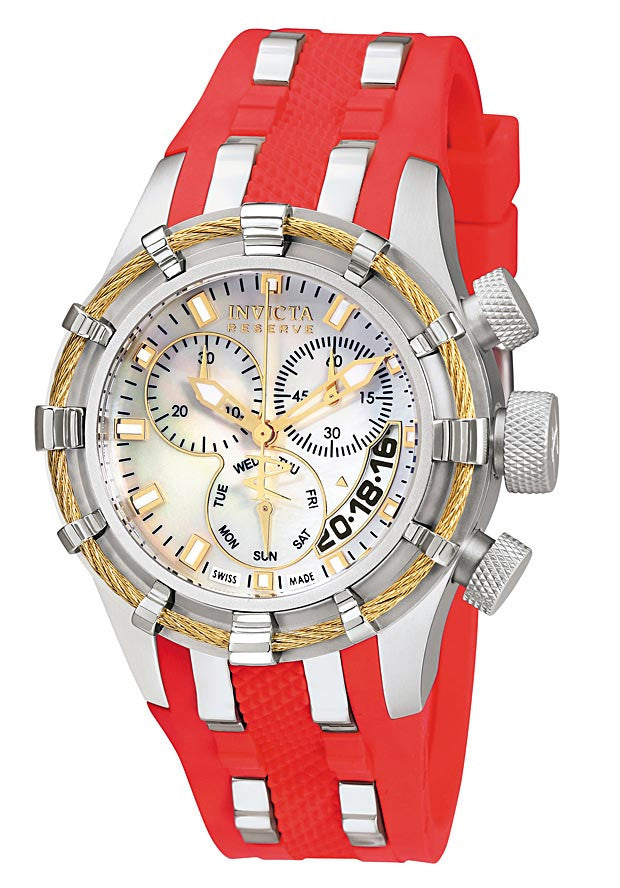 Invicta 6946 Women's Reserve Bolt MOP Chronograph Watch