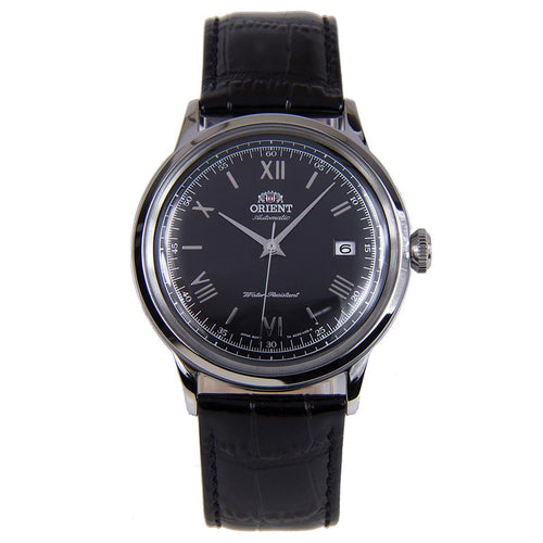 Orient AC0000AB Men's Bambino II Black Dial Black Leather Strap Automatic Watch
