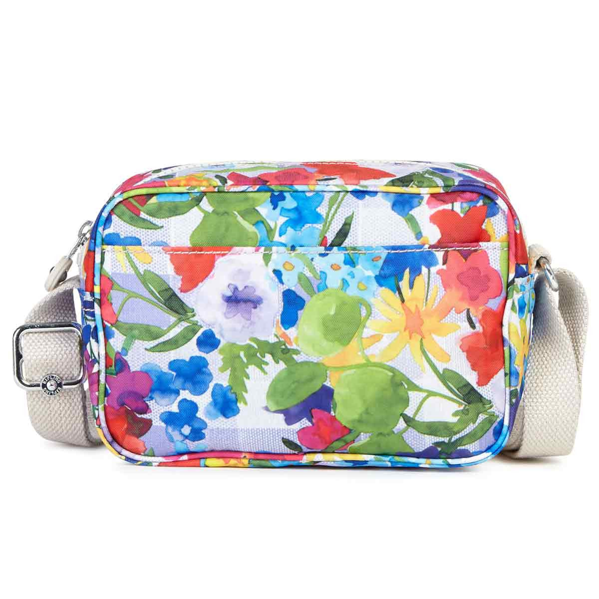 Kipling AC7761-943 Women's Dee II Picnic in the Park Printed Nylon Crossbody Handbag
