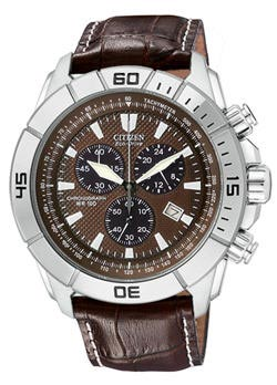 Citizen Men's Eco-Drive WR100 Chronograph Watch AT0810-04X