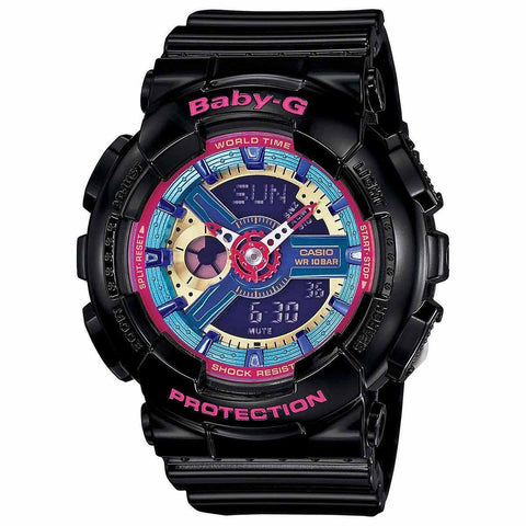 Casio G8900A-1 Men's G-Shock Digital Black Resin Blue Dial Dive Watch
