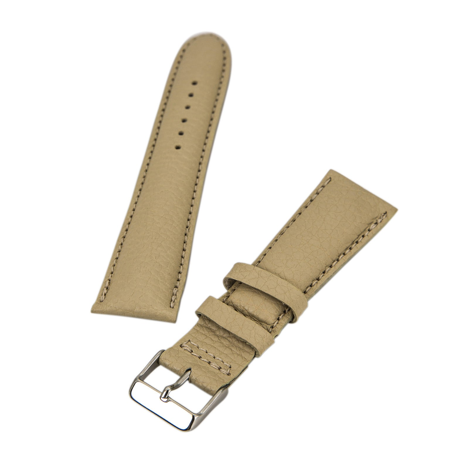 Brentwood Tan 24 mm Genuine Calf Leather