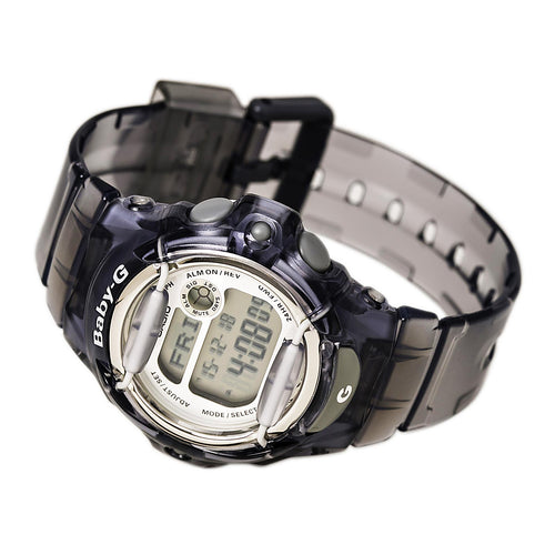 Casio BG169R-8 Women's Baby-G World Time Black Digital Dial Watch