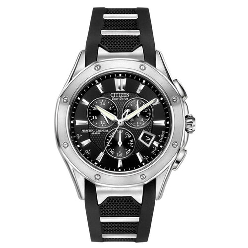 Citizen BL5460-00E Men's Signature Octavia Perpetual Chronograph Eco-Drive Watch