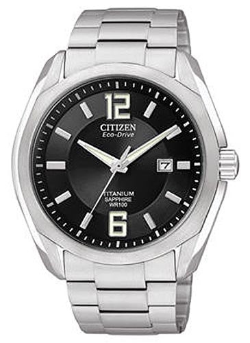 Citizen BM7080-54E Men's Eco-Drive Titanium Collection Watch