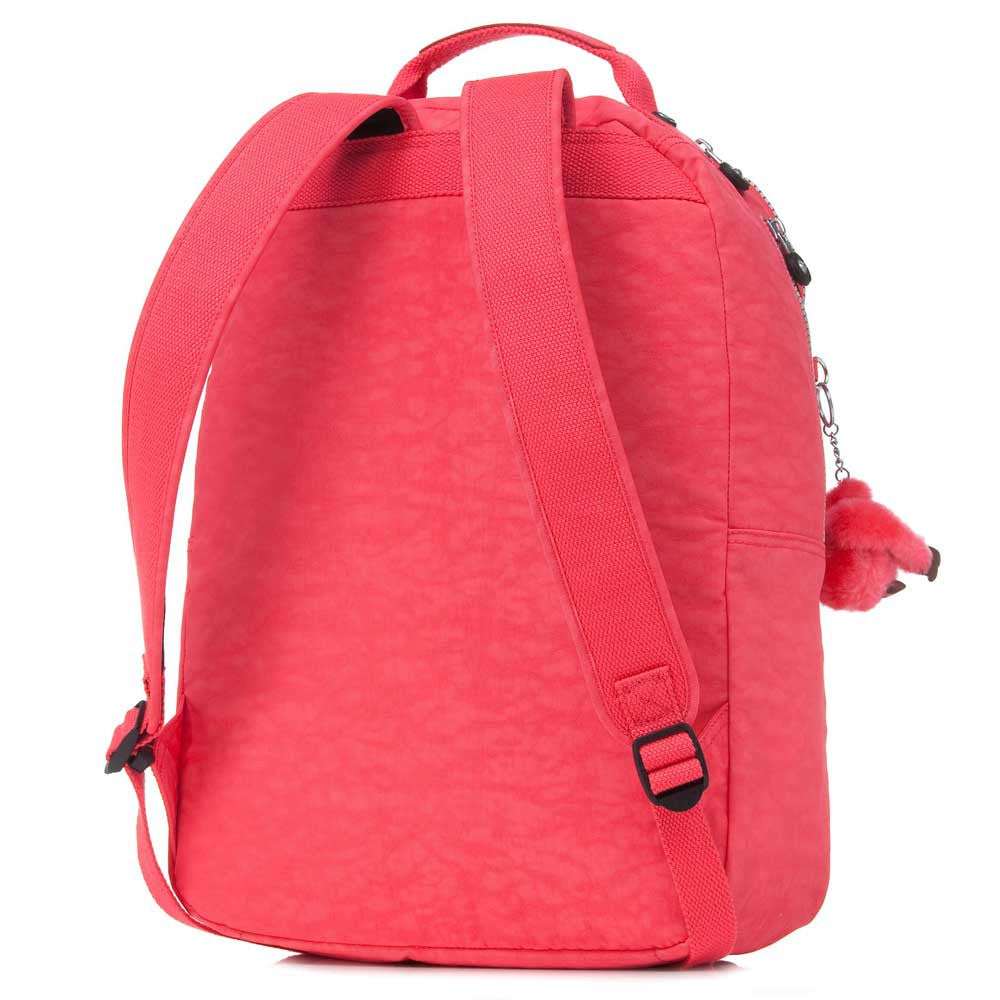 Kipling BP3020-600 Women's Seoul Red Backpack with Laptop Protection