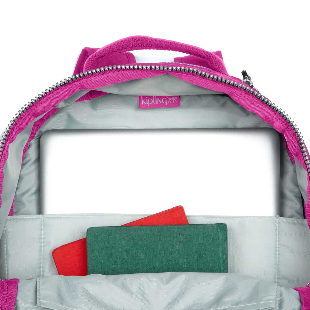 Kipling BP3020-653 Women's Seoul Breezy Pink Backpack with Laptop Protection