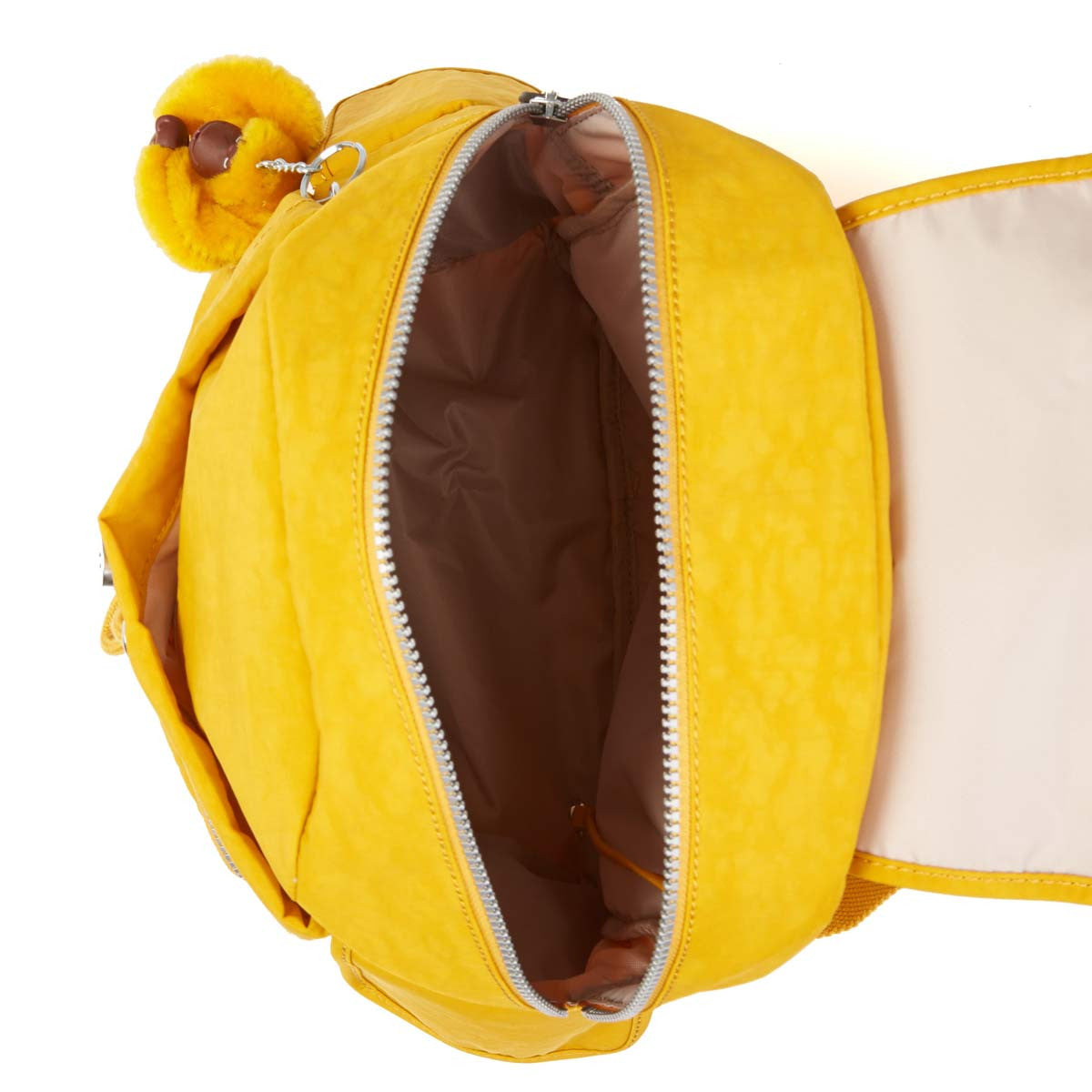 Kipling BP3872-231 Women's Ravier Warm Yellow Nylon Large Backpack