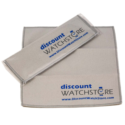 Discount Watch Store Deluxe Microfiber Polishing Cloth
