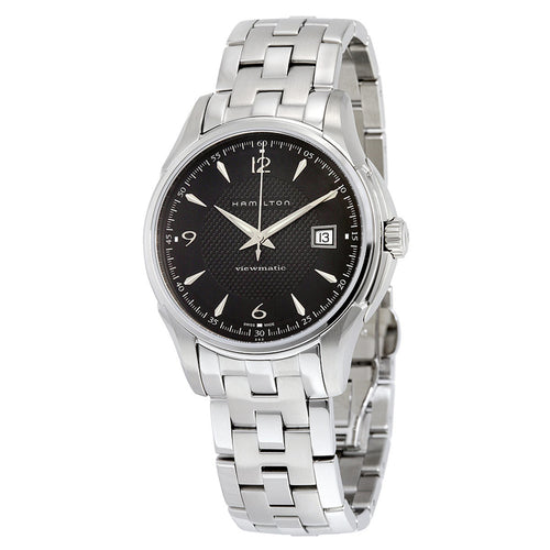 Hamilton H32515135 Men's Jazzmaster Viewmatic Black Dial Steel Bracelet Automatic Watch