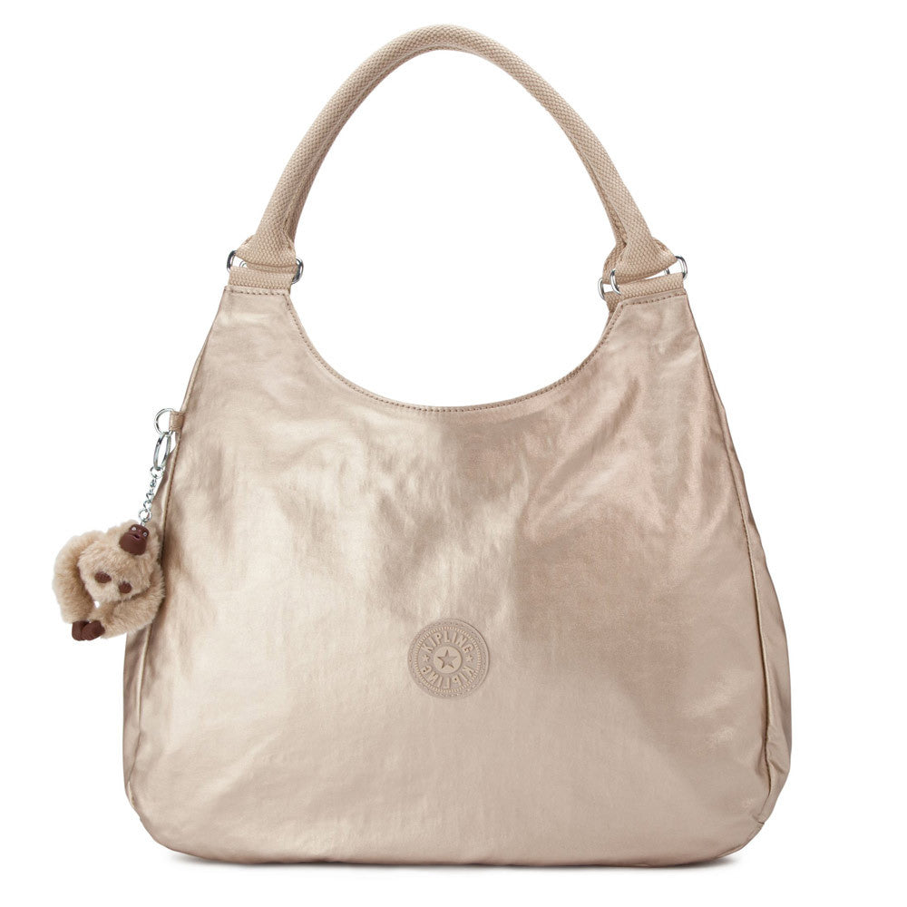 Kipling HB6402-340 Women's Bagsational Metallic Toasty Gold Handbag