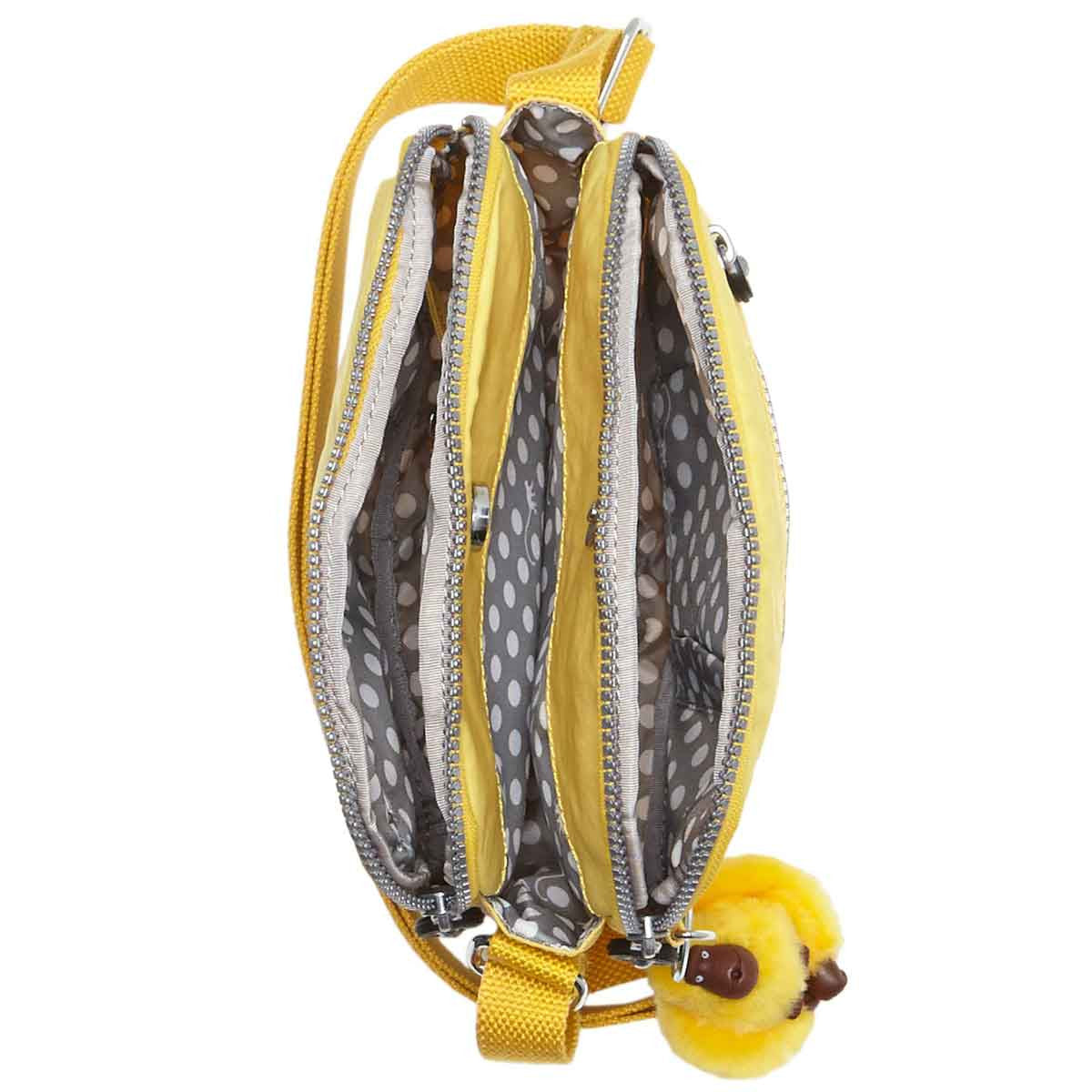 Kipling HB6467-708 Women's Keefe Canary Nylon Crossbody Handbag