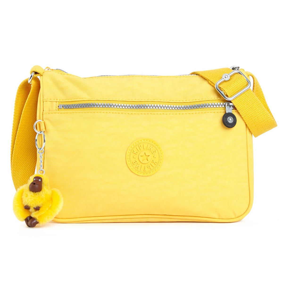 Kipling HB6490-708 Women's Callie Canary Nylon Crossbody Handbag