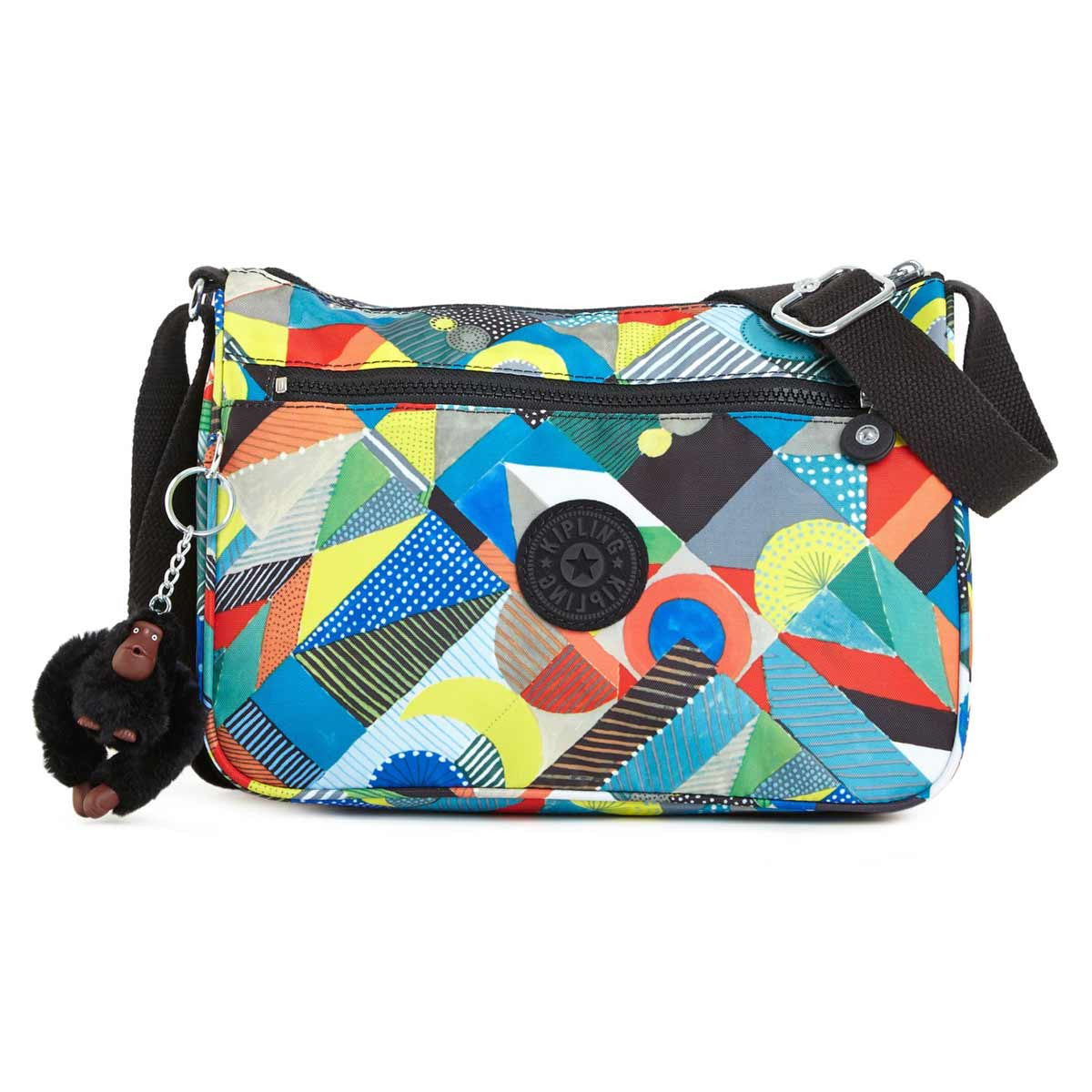 Kipling HB6492-901 Women's Callie Abstract Beauty Printed Nylon Crossbody Handbag