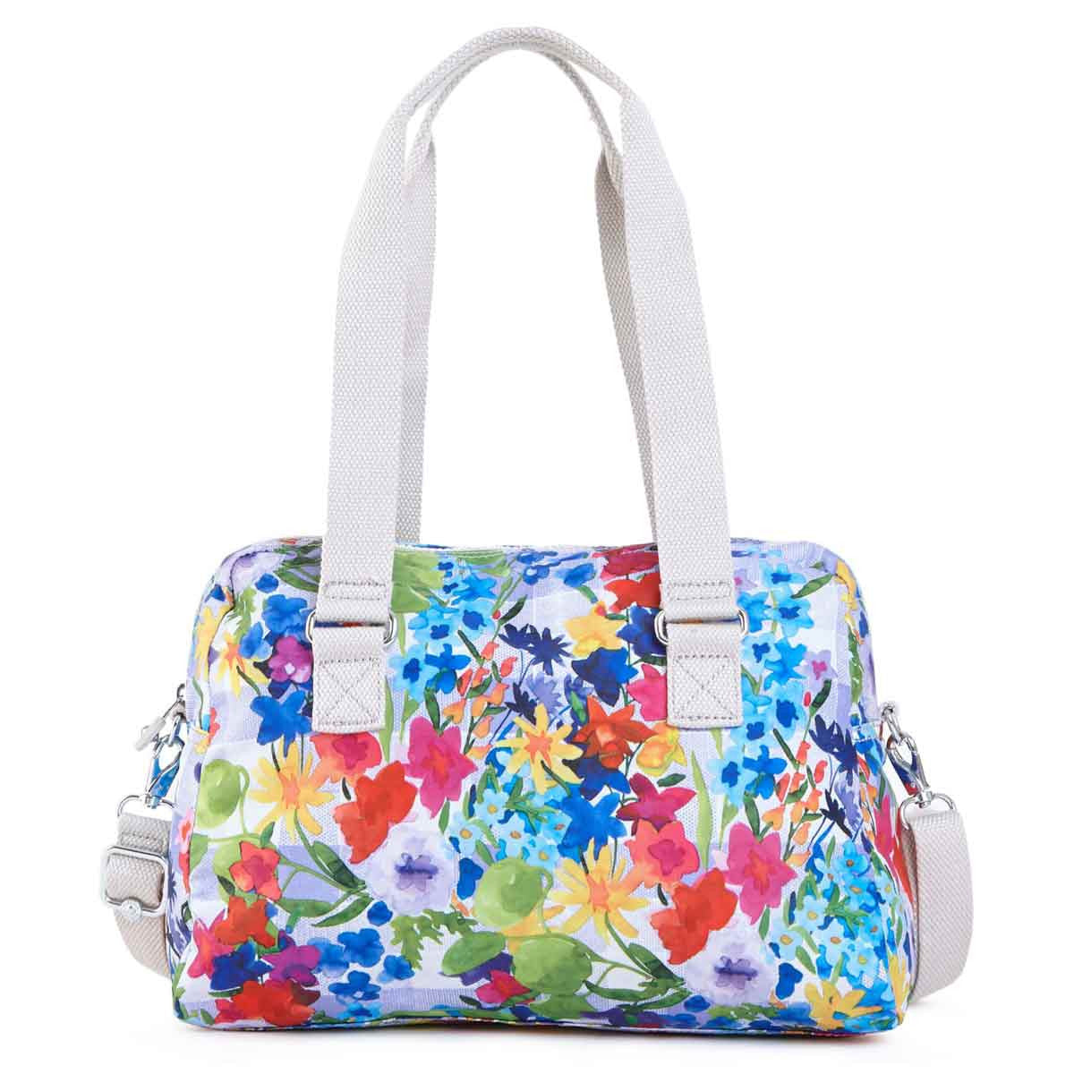 Kipling HB6613-943 Women's Dania Picnic in the Park Printed Polyester Handbag