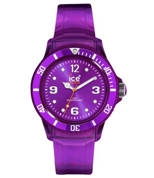 Ice-Watch JYVTUU10 Unisex Ice-Jelly Purple Sunray Dial Polycarbonate Watch
