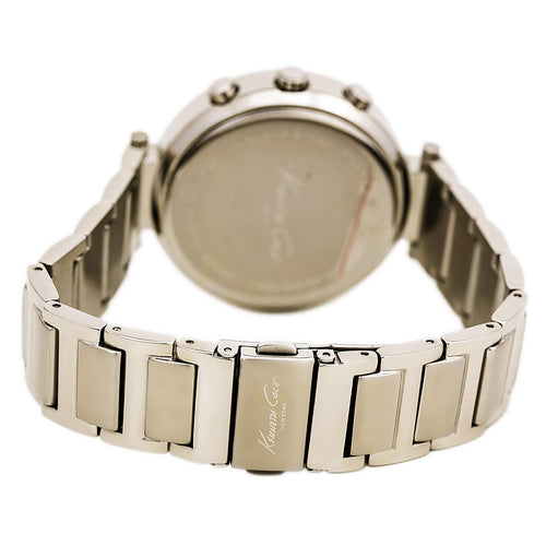 Kenneth Cole KC4666 Women's Hamptons Chronograph White Dial Stainless Steel Bracelet Watch