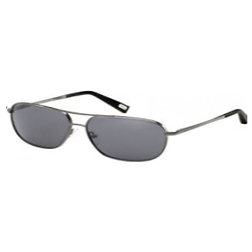 Marc by Marc Jacobs MJ352SKJ1BN58L Unisex Gunmetal Metal Frame Grey Lenses Sunglasses