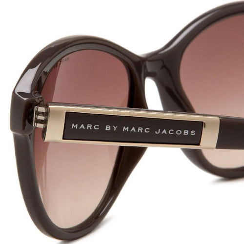 Marc Jacobs MMJ225S0YS9 Women's Gray Cream Frame Brown Gradient Lenses Sunglass