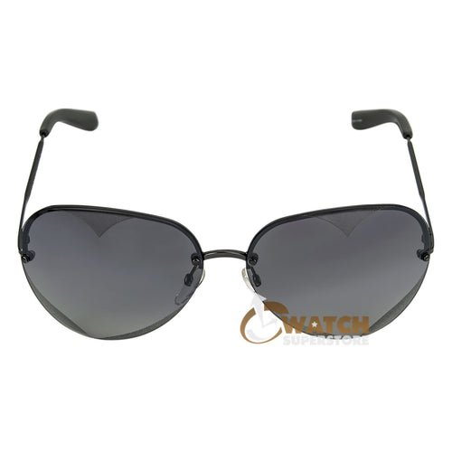 Marc Jacobs MMJ252S0KJ1 Women's Aviator Dark Ruthenium Metal Frame Gray Mirror Gradient Lens Sunglasses