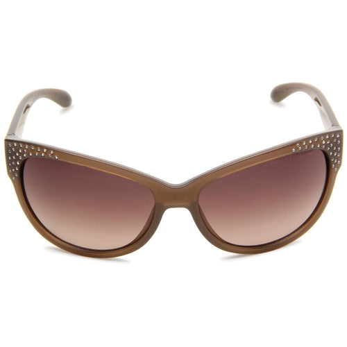 Marc Jacobs MMJ272S01YK Women's Wayfarer Opal Brown Plastic Frame Brown Gradient Lens Sunglasses
