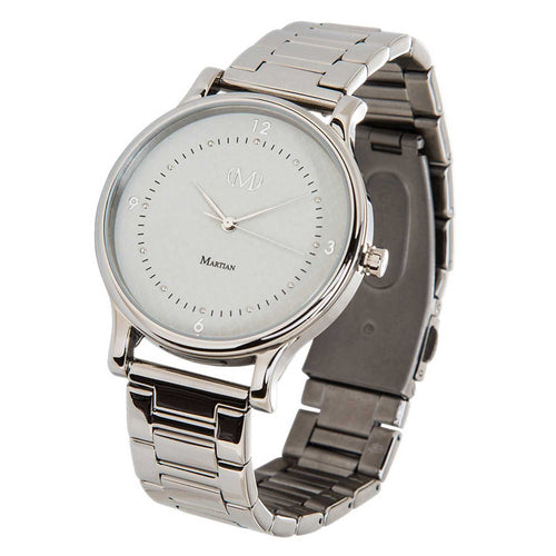 Martian MPS01CL042 Woman's CL04 mVip Light Grey Dial Stainless Steel Smartwatch
